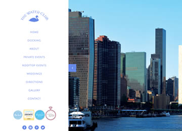 The Water Club Website